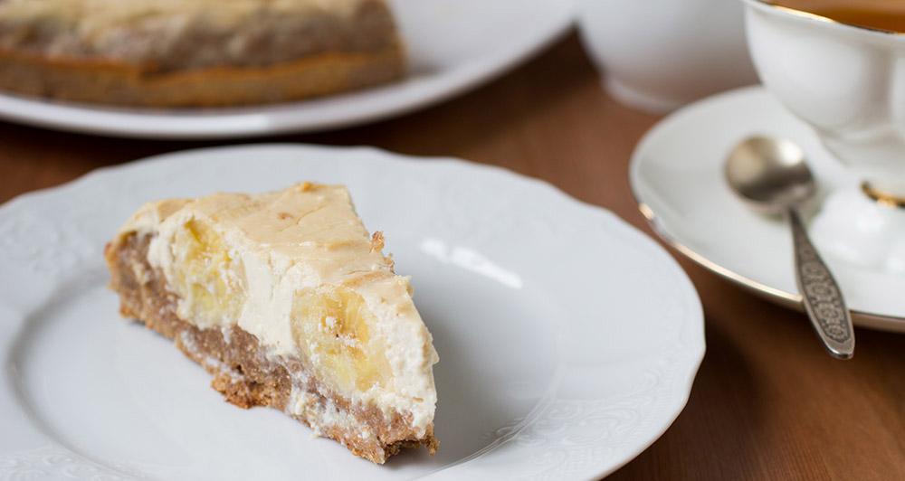 Quick Banana Cream Cheesecake