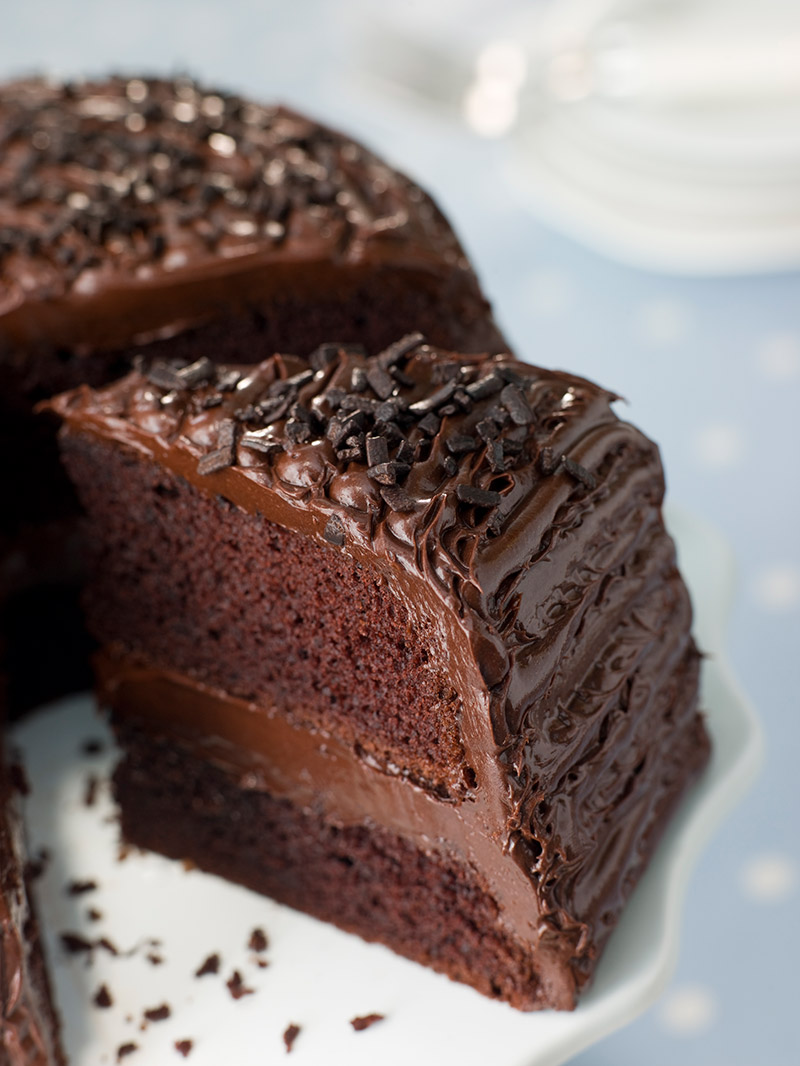 Mad Chocolate Fudge Cake