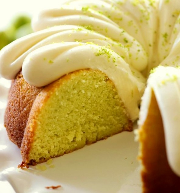 Moist Key Lime Pie Bundt Cake Recipe