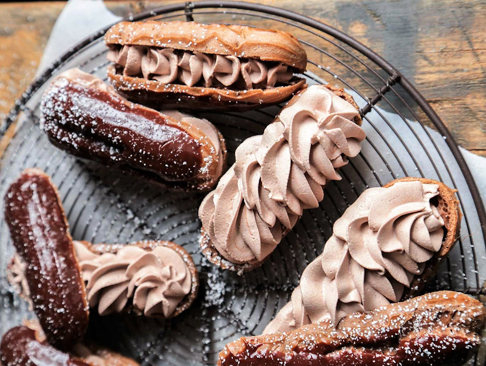 Triple Chocolate Eclairs Heaven Recipe