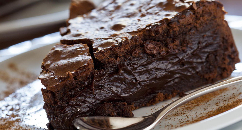 Swedish Chocolate Cake – Kladdkaka