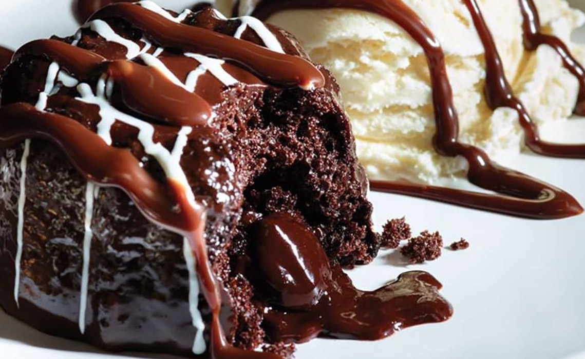 Homemade Molten Chocolate Cake
